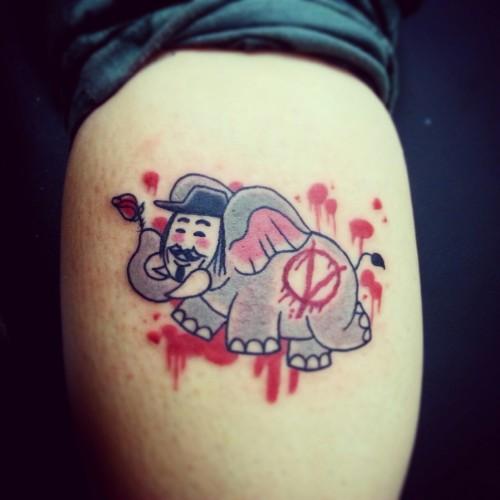 V for Vendettaphant