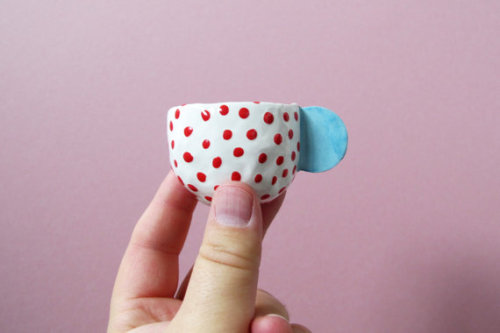 etsy:  Espresso Cups by mudpuppy.