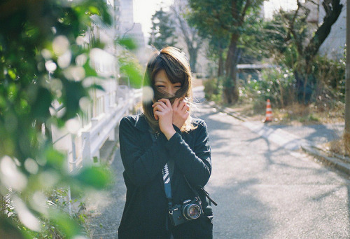 It's springtime by F.Suzuki on Flickr.Via Flickr: CONTAX RTS. Carl Zeiss Tessar 45mm F2.8. Kodak PORTRA400.
