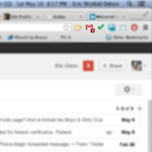 Can't remember the last time my inbox count was this low. #TooManyEmails