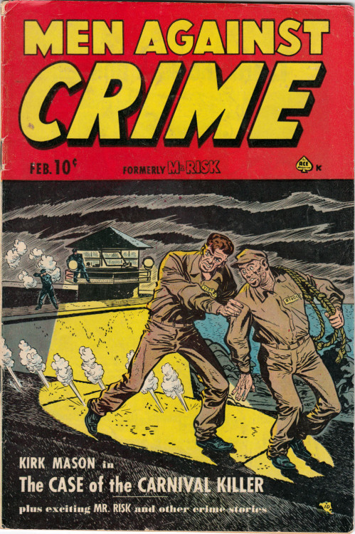 Comic Cover Monday: Men Against Crime (Formerly Mr.Risk)