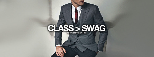 Class Is Greater Than Swag Quote Facebook Cover