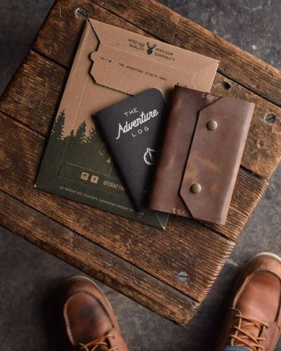 #wood#boots#adventure#notebook#leather #@craftandlore #hand crafted#craftsmanship#craftandlore