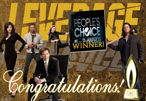 trueleverage:  #Leverage won the @PeoplesChoice Award for Best Cable Drama artwork by @SweetKaneLuvr @tntweknowdrama bet you're regretting cancelling now!