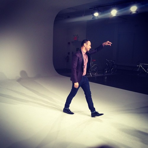 Man, Carlos pissin' me off with all that swag. #nyfw #mbfw #carloscampos @carloscampos (at Milk Studios)