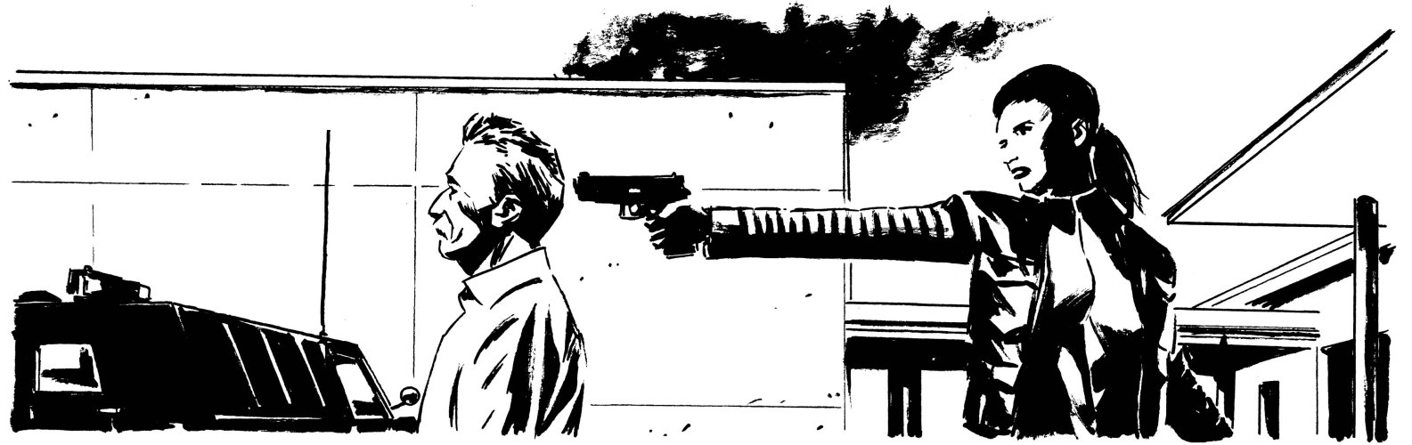 ruckawriter:  By Michael Lark. From LAZARUS #1.  So looking forward to this book.