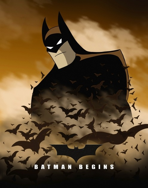 "geekvariety:  E-BOLO  /  ""Batman Begins Re Animated"""