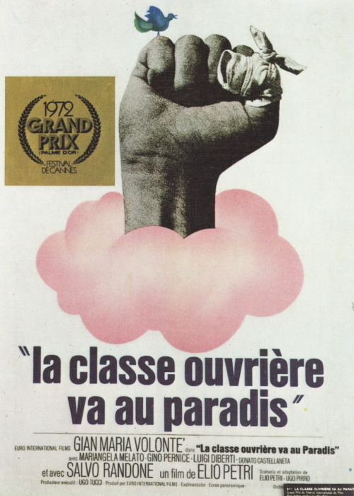 The Working Class Goes to Heaven (aka Lulu the Tool) d. Elio Pertri (1971)