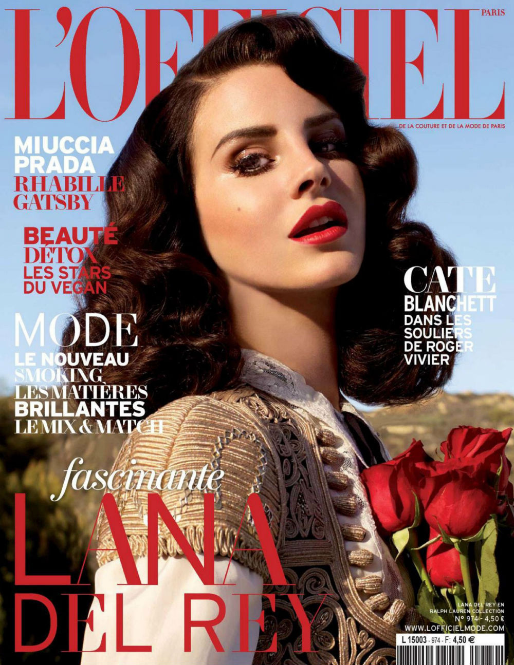 journaldelamode:  Lana Del Rey by Nicole Nodland for L'Officiel Paris April 2013