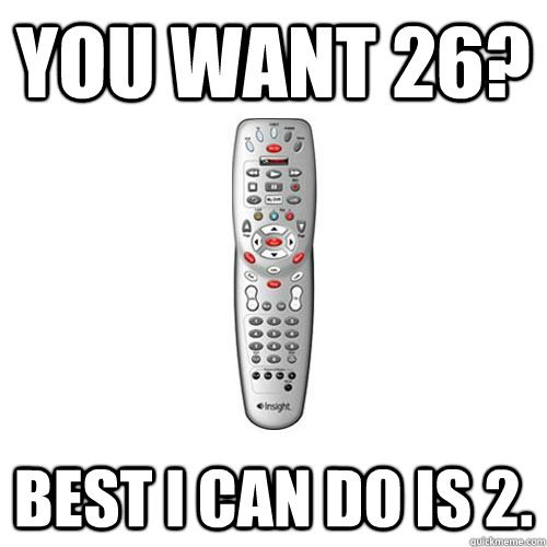 theamericankid:  Scumbag Remote  Comcast -_-