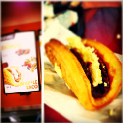 fastcompany:  Taco Bell is testing a Waffle Taco. Because… why not?