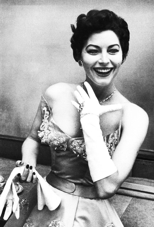 gardnerandhayworth:  Ava Gardner photographed by David Douglas Duncan, 1954.