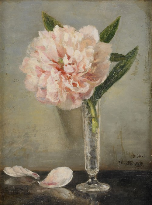 colourthysoul:  Anna Munthe-Norstedt - Still Life with a Peony