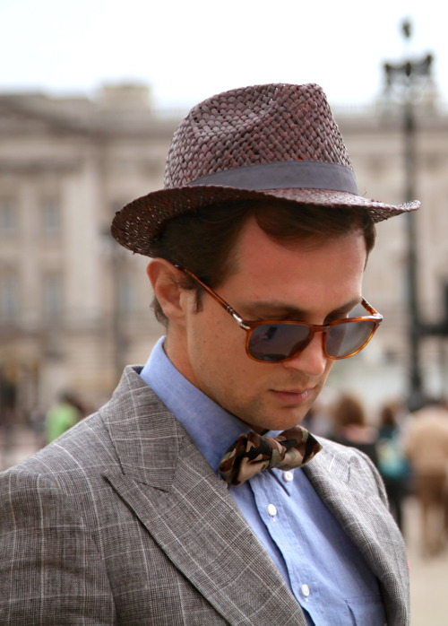 suitsupply:  Gentlemen have worn hats for centuries. You're a gentleman, right?   Yes.