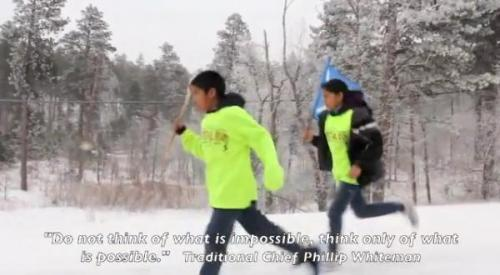 Video: Northern Cheyenne Youth Braved Blizzard for Ancestors - ICTMN.com