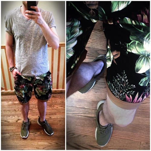 #wiwt 2006 #nepenthes shorts x #jcrew x #nike #roshe #rosherun #gettindipped not really #menswear
