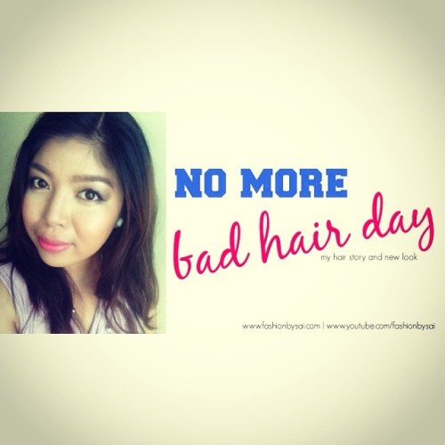 New hair don't care. Read more about it at fashionbysai.com.  #bblogger #bbloggersph #beautyblogger #beauty (at http://www.fashionbysai.com)