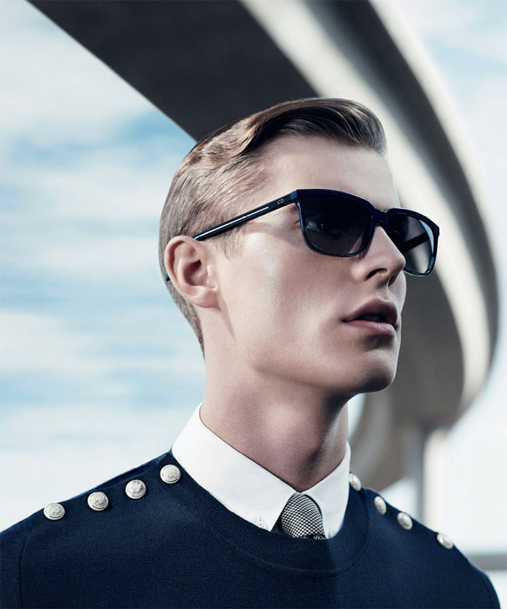 Fashion photography (Dior Homme Underpass Spring-Summer 2013, via dior)