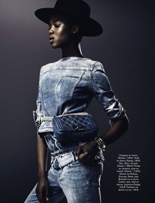 ALIMA FOFANA FOR GLAMOUR FRANCE
