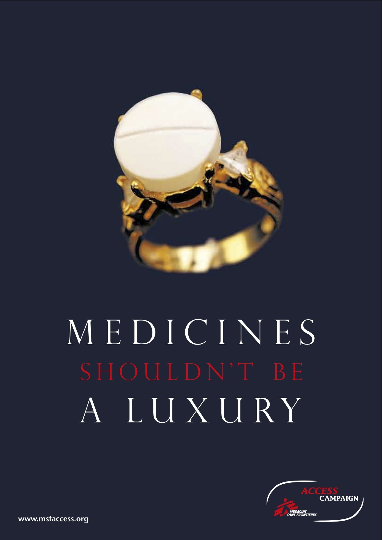 doctorswithoutborders:  What if the medicines that could save your life cost a hundred times what you earn in a year? Many people in developing countries can't get hold of the treatment they need to stay alive and healthy. That's why Médecins Sans Frontières launched the MSF Access Campaign in 1999 to find ways of ensuring that medicines could be made available for all our patients and others in developing countries. Our mission is to increase access to – and the development of – affordable, practical and effective drugs, vaccines and diagnostic tests for diseases that affect people in places where we work.