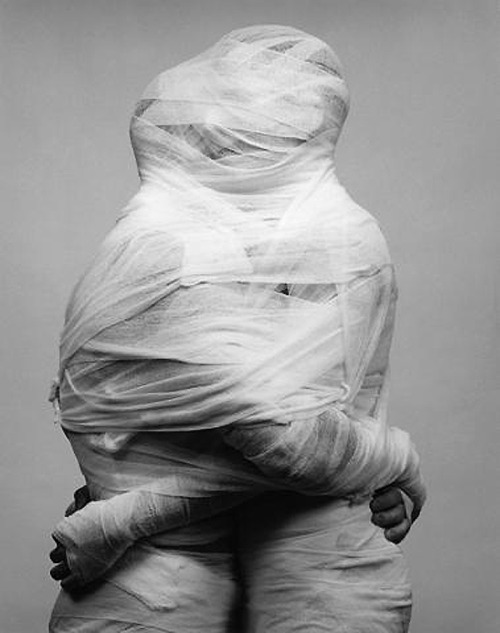 hifas:  Robert Mapplethorpe White Gauze, 1984