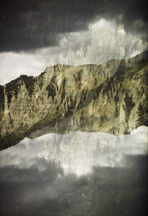 landscapes transform. 35mm double exposure from Kaleidoscape.