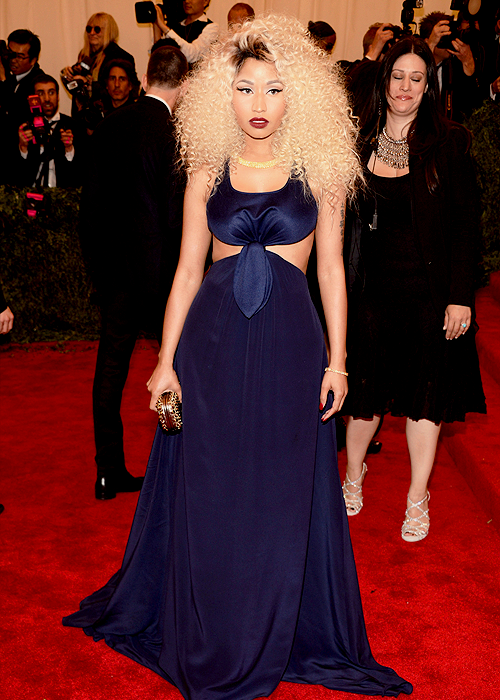 nickiminajsbarb:  Nicki Minaj won best dressed at the #MetGala 2013.