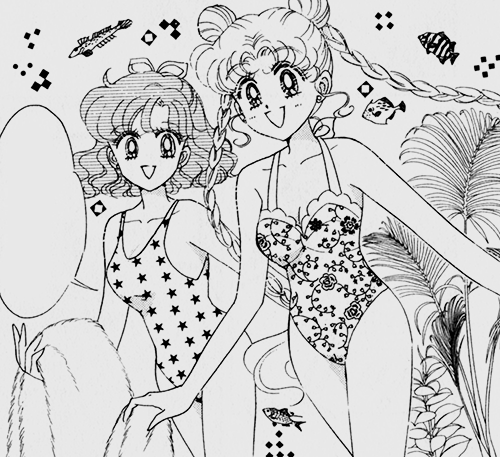sailorcivilian:  Usagi's hair is so cute in braids.
