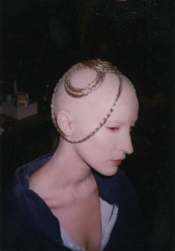 stylejourno:  'JOAN' - Backstage at Alexander McQueen A/W 1998