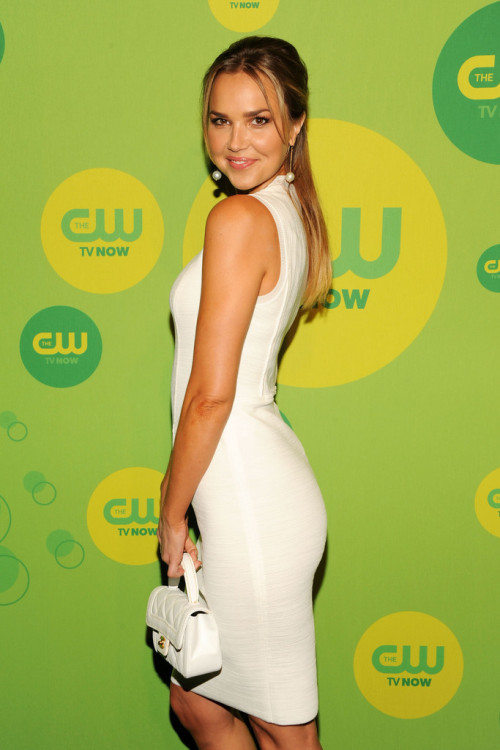 Arielle Kebbel || CW Upfronts at The London Hotel in NYC on May 16, 2013