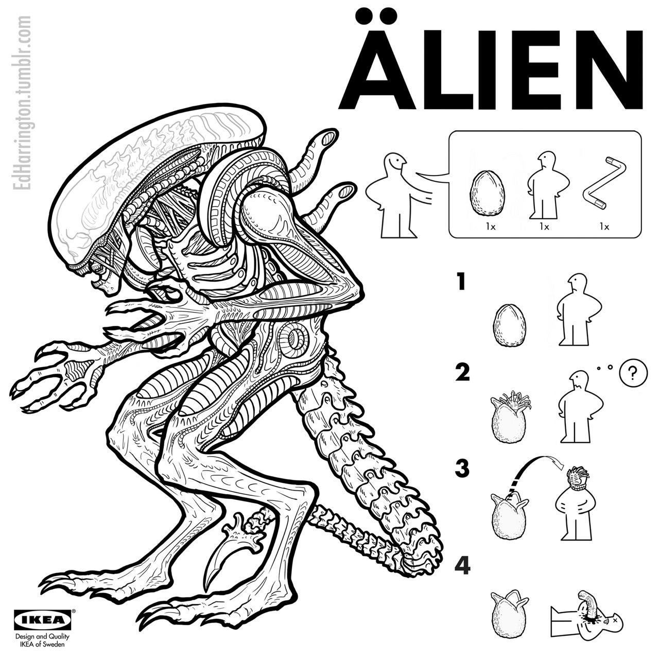Ikea Alien