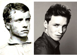 Is it just me, or does Eddie Redmayne kinda resemble a young Teddy Roosevelt?