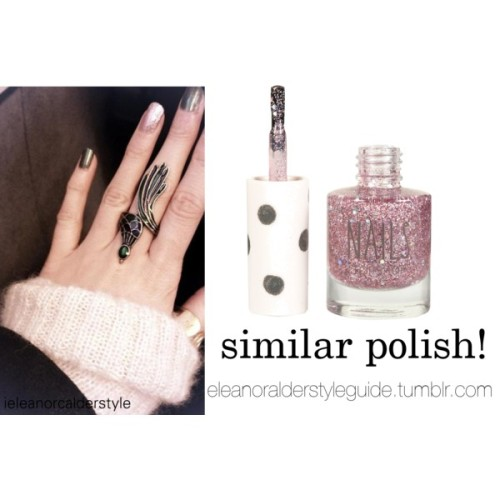 Eleanor pictured wearing this similar nail polish!