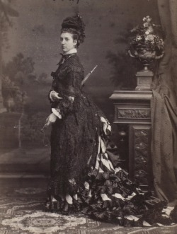 Princess Alexandra of Wales, later Queen consort of Great Britain.. Circa 1876