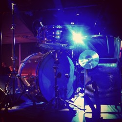 #drums #drumporn #slingerland #stage #show My babies all lit up!! 😍