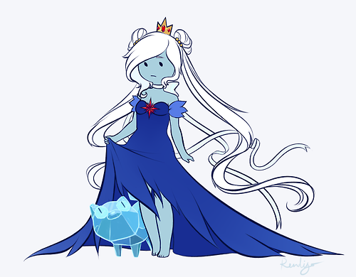 reindeergo:  I've gotten multiple requests to draw Fionna as the Ice Princess, but I've had a pretty big workload so I've only now gotten her finished! I also wanna say some things about character design, specifically, about my Ice Prince design, so feel free to skip this, its a p. dry subject. Read More