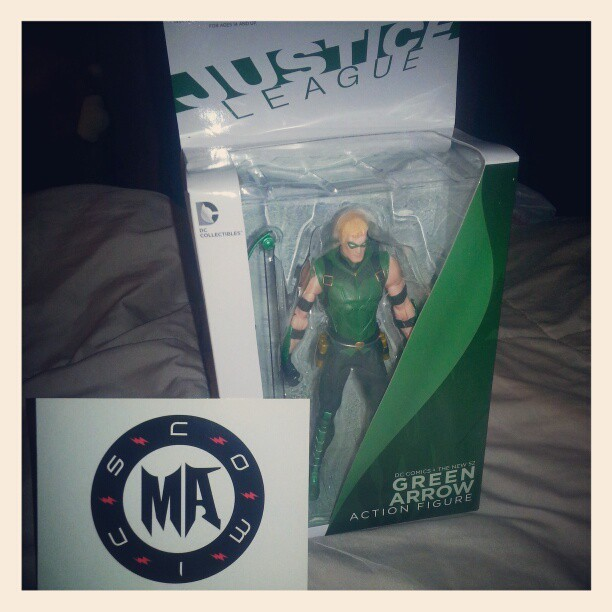 modernagecomics:  Green Arrow  Meh… I think my collection will survive without…