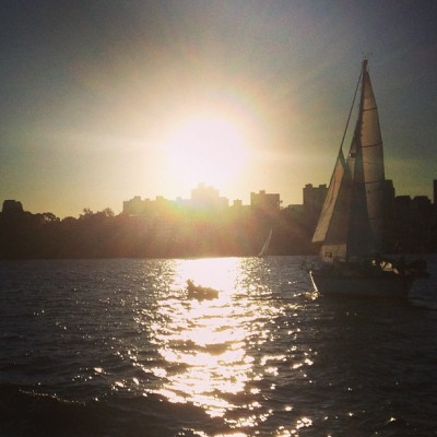 Sydney Harbor 🌅⛵⚓🌊 #beautiful #australia #sailing #instagood