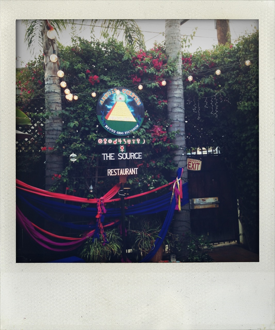 watched the source family docu at cinefamily and ate really good hippie food last night ✌✨