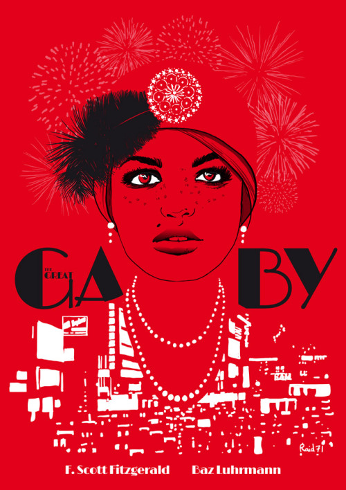 Promotion poster for The Great Gatsby