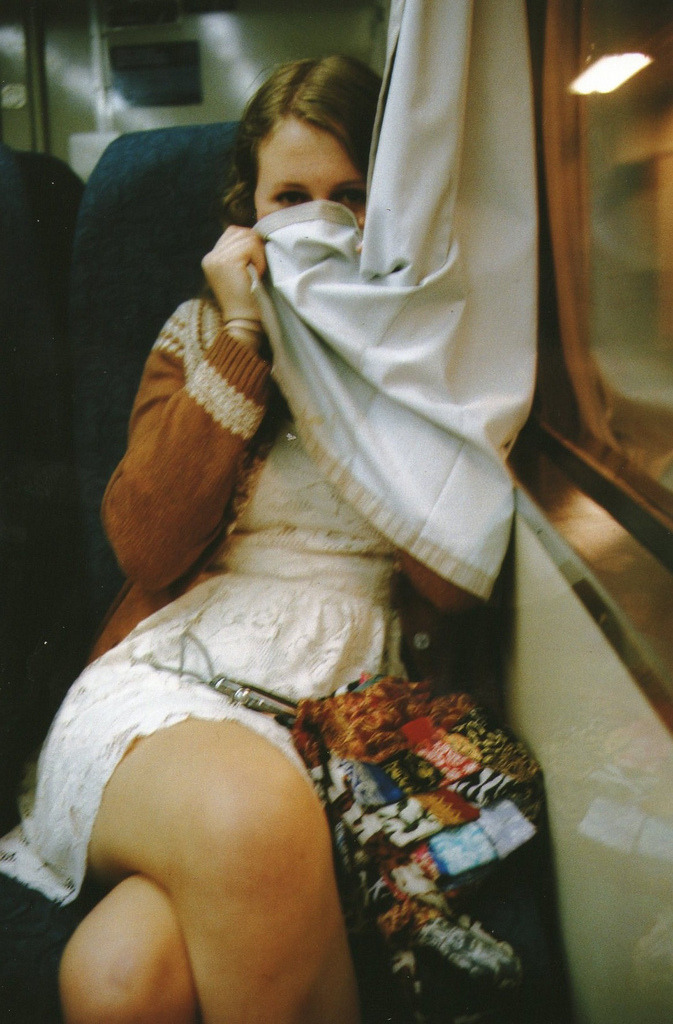 vacants:  lucy on the train (by elise katri)