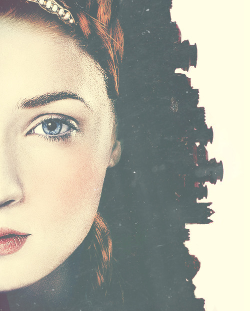 The northern girl. Winterfell's daughter.
