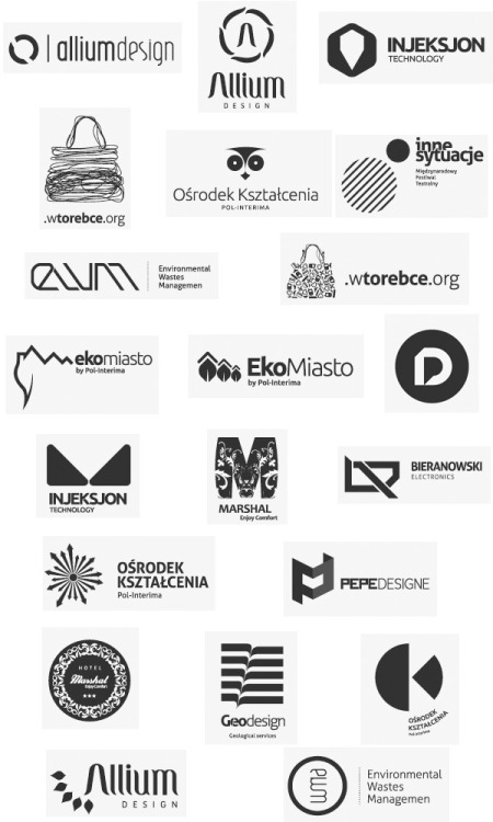 Creative Logo Design. Today we want to show you the inspiring logo creations by Michał Stróż, a Polish art director, web and graphic designer and owner of the branding and design studio Prograffic™. Logo Designs by Michał Stróż via WE AND THE COLORWATC//Facebook//Twitter//Google+//Pinterest