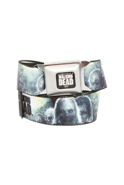 The walking dead belt http://www.hottopic.com/hottopic/Accessories/BeltsBuckles/The+Walking+Dead+Zombies+Seat+Belt+Belt-10021198.jsp