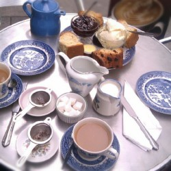 Traditional cream tea