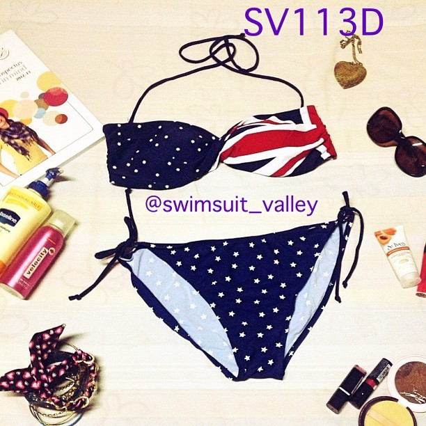 Get this oh-so-cute swimsuit at @swimsuit_valley ! They offer the best #twopiece at such affordable prices! :)