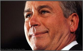 House Speaker John Boehner is back! But don't let those crocodile tears fool you. As long as he leads an anti-choice dominated chamber of Congress, he is a SERIOUS THREAT to women's reproductive health. Help us keep Boehner in check! Challenge him to no hearings, no markups, and no votes attacking abortion or birth control.