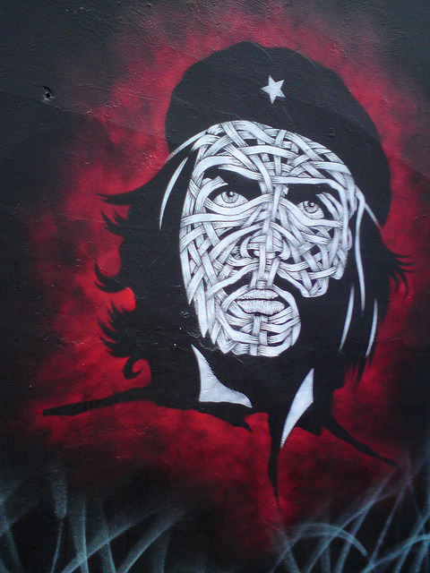 Che Guevara - London Street Art by londonstreetart2 on Flickr.