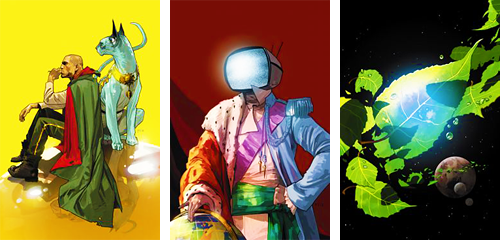 infinity-comics:  Saga #1-12 covers by Fiona Staples