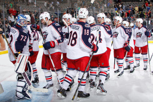Bob & the Blue Jackets keep their playoff hopes alive.